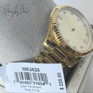 Michael Kors Accessories - New authentic MK gold tone Blake watch